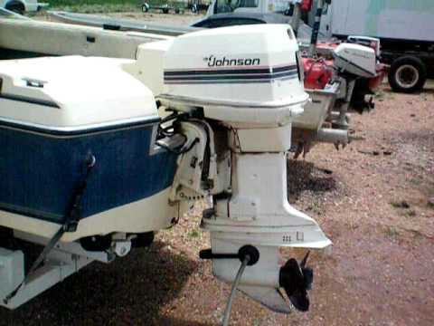 Johnson 115hp Outboard Youtube
