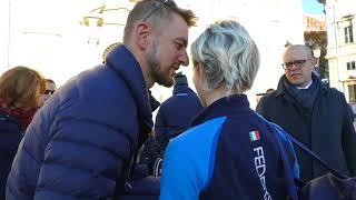 L'emozione dei campioni paralimpici da Mattarella, Bebe Vio: Grazie Sergione