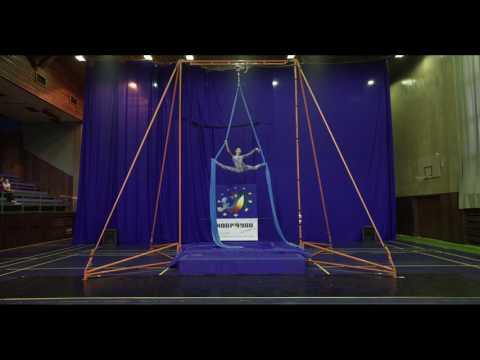 Aleksandra Butrimovich - Silk Amateurs B, Open European Championship of Aerial Acrobatics 2016