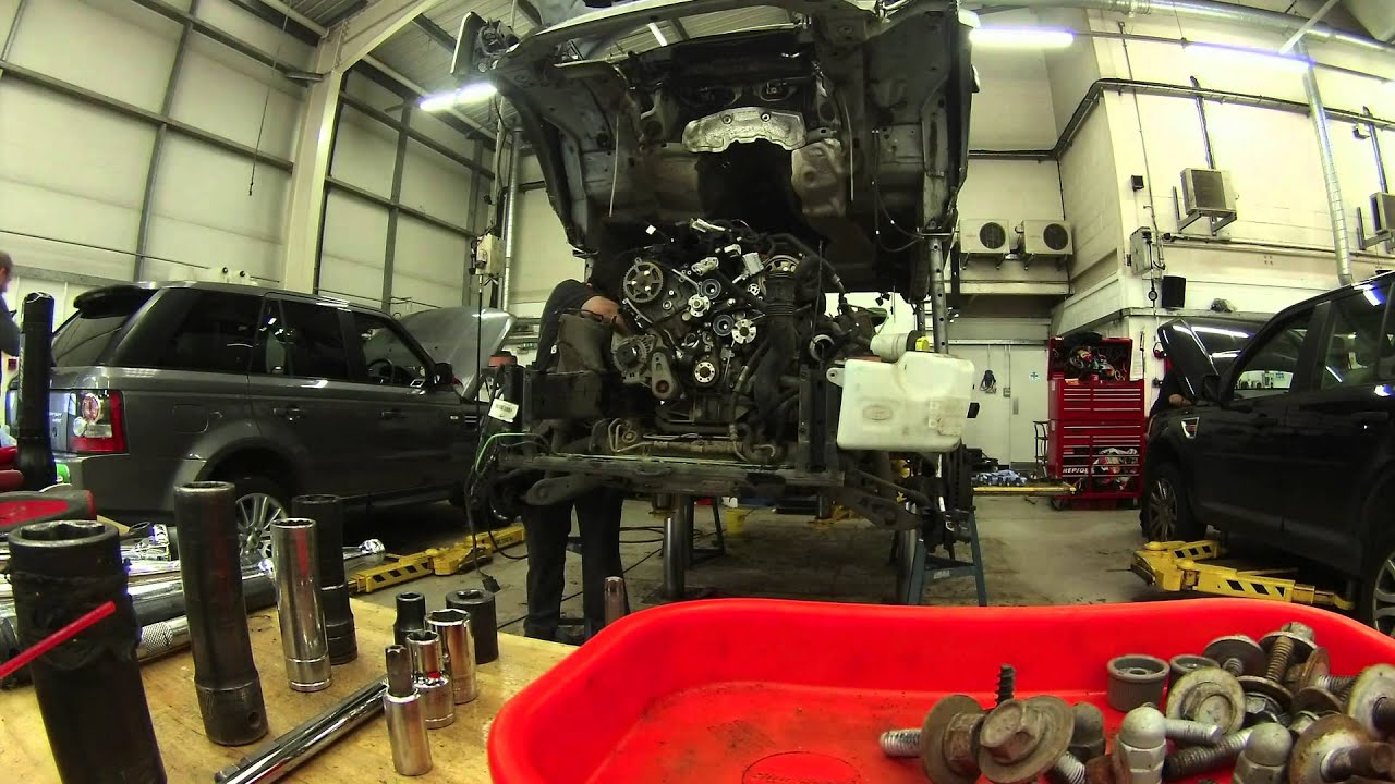 2014 Range Rover Interior >> discovery 3 engine removal, body off - YouTube