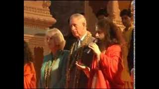 Prince Charls in Rishikesh
