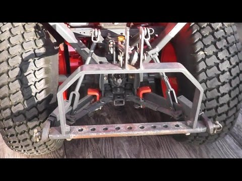 How to Build a 3 Point Quick Attach Hitch For your Tractor
