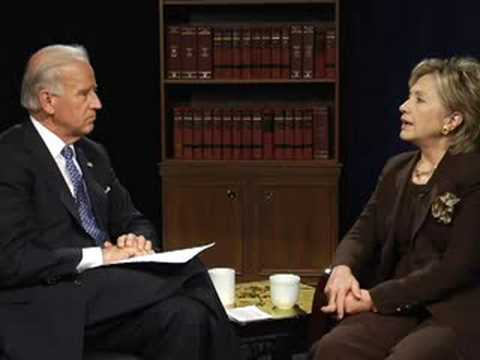 Joe Biden and Hillary Clinton Discuss Women's Issues