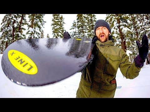 WORLD'S FIRST INDESTRUCTIBLE SNOWBOARD?!