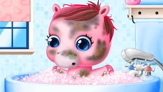 Baby Horse Care Fun Taking Care Of The Cutest Baby Pony Girl - Funny Pet Care Games