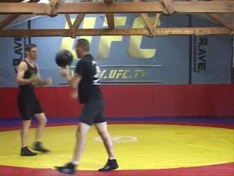 Randy couture fight workout circuit at team quest Image 1