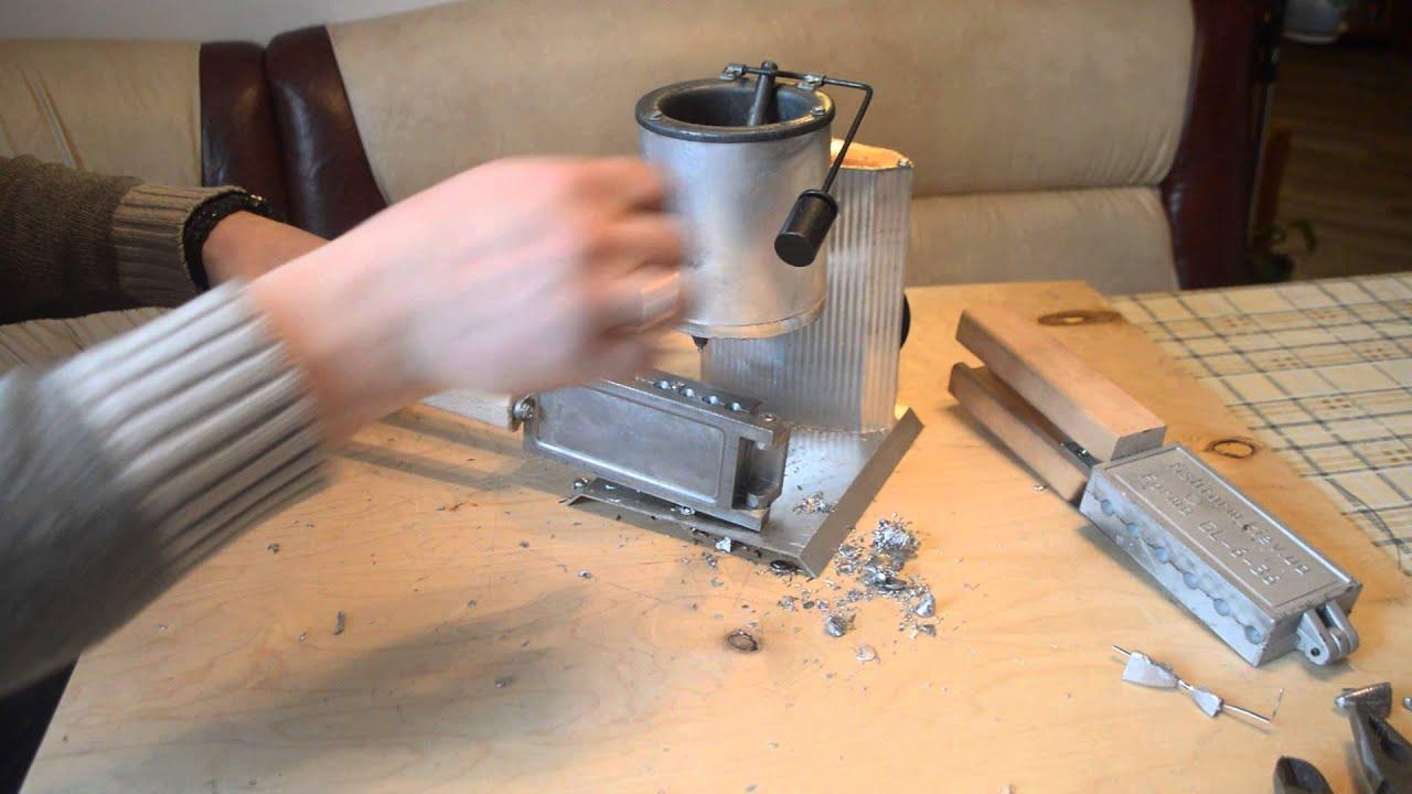 Изготовление формы для литья из свинца своими руками 71