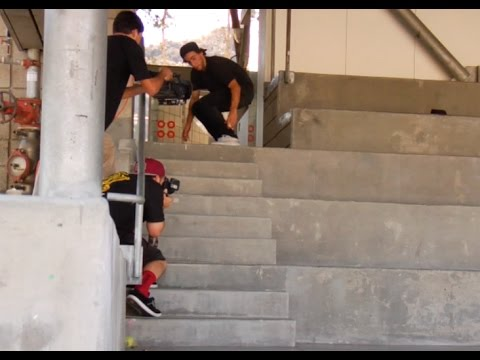 Micky Papa Nollie Tre Flip Raw Uncut