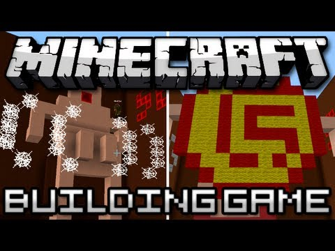 Minecraft: Building Game Round 3 Me In a Thong