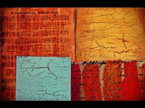Ways to use Decoart's Weathered Wood Crackle Medium Andy Skinner