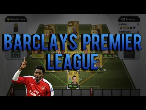 9k Cheap & Fast BPL Team   FIFA 13 Ultimate Team   Squad Builder #12