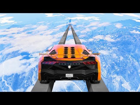 Only 2 People Completed This IMPOSSIBLE Race Before - GTA 5 Funny Moments