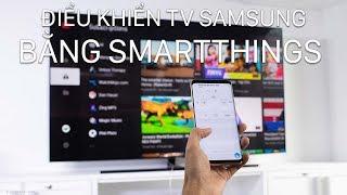 Điều khiển Smart TV Samsung từ điện thoại, tắt / mở từ xa