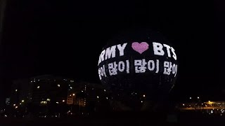 THE WORLD'S LARGEST ARMY BOMB [BTS WINGS TOUR IN MANILA]