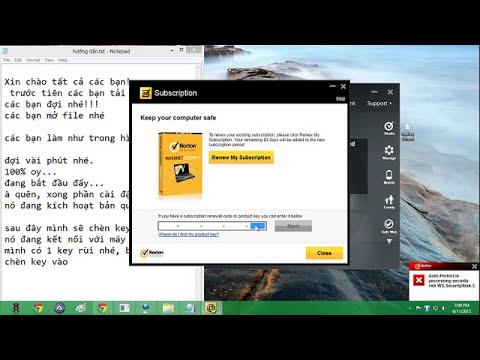 hướng dẫn cài đặt norton internet security 2013