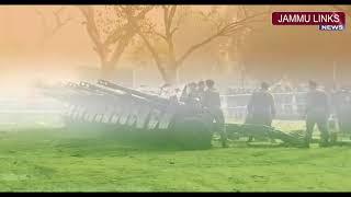 Traditional 21-Gun Salute at R-Day Parade at Rajpath