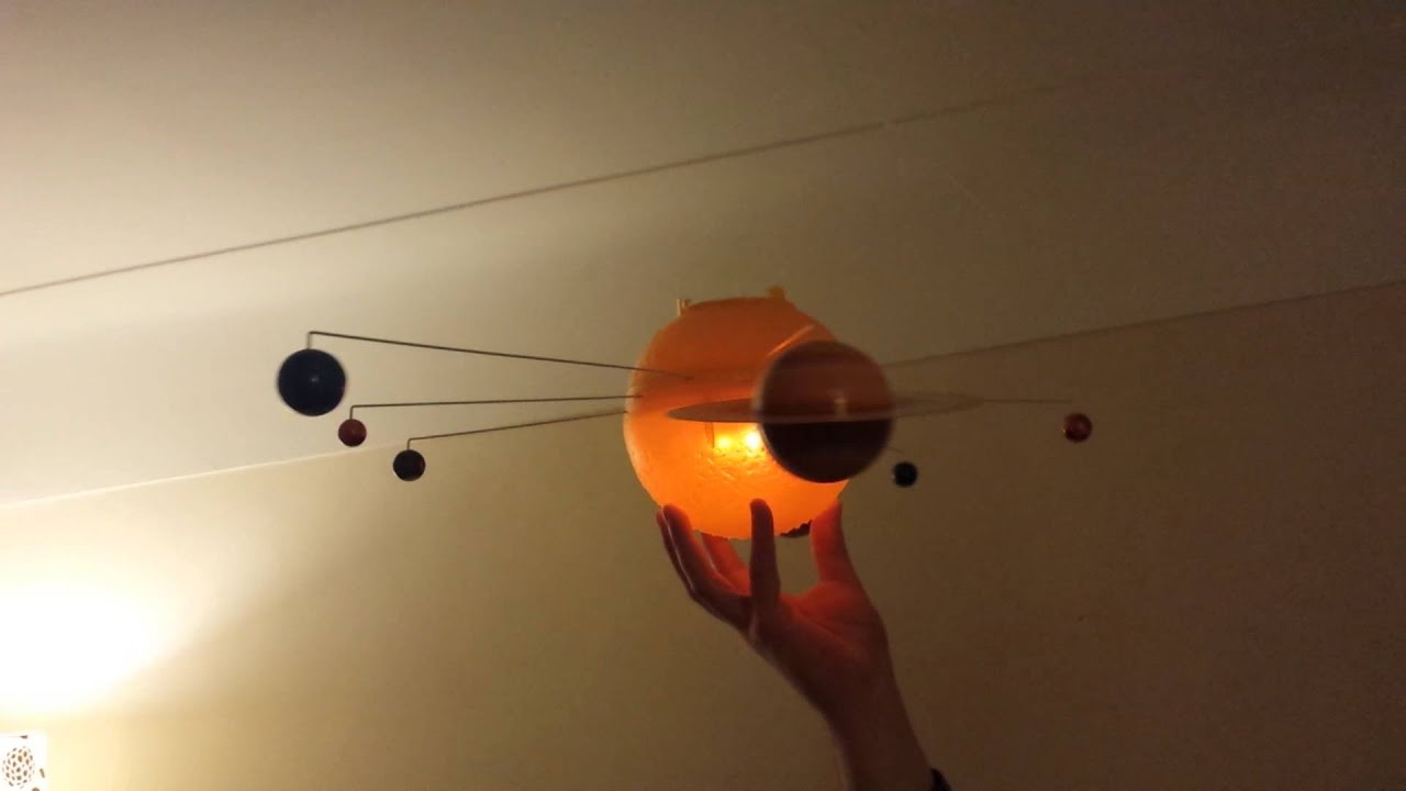 Solar system in action. - YouTube