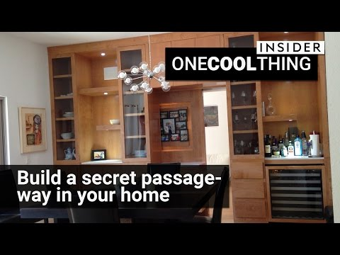 Secret passages built in your own home   One Cool Thing