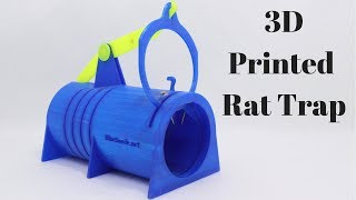 3D Printed Rat Trap Invented By a Youtube Viewer From Sweden. Mousetrap Monday
