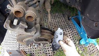 KIA Mohave (2011): Замена тормозных колодок