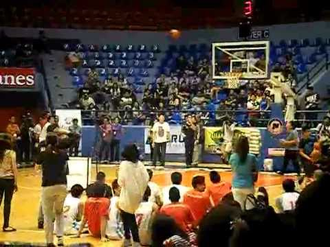 Fastbreak: A Charity Basketball Game for Sendong Victims.