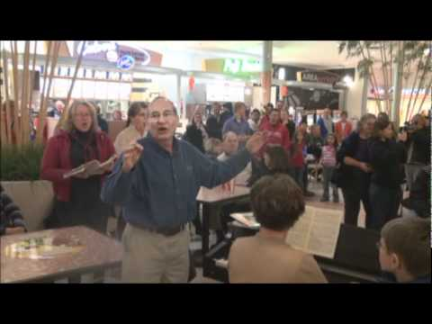 Hallelujah Flash Mob Sioux Falls Seminary Community Choir 2011