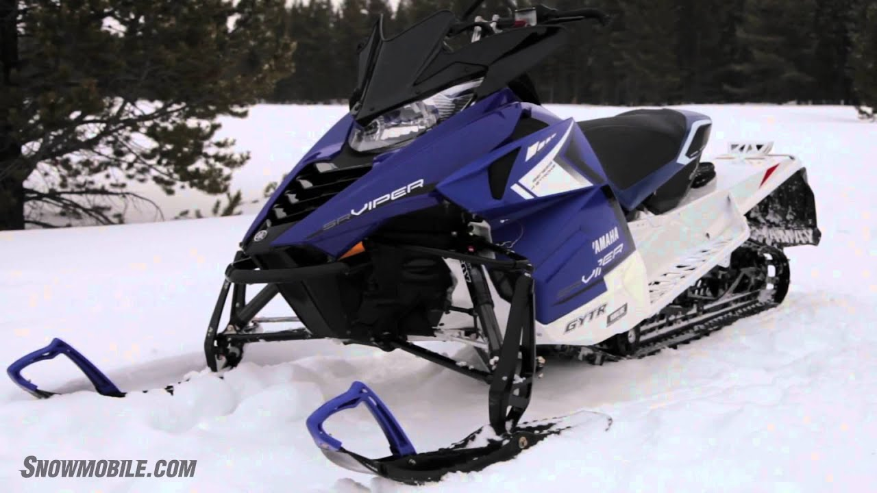 Working On A Yamaha Snowmobile