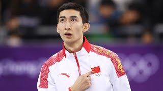Speed skater Wu Dajing wins China