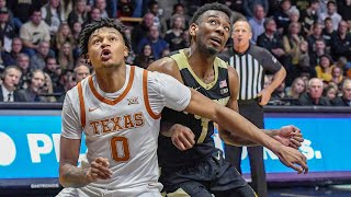 Texas vs Purdue Men's Basketball Highlights