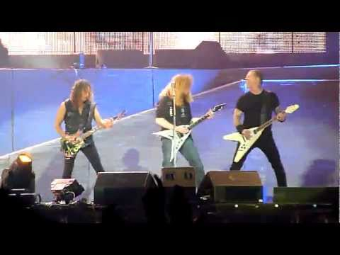 Metallica• Helpless with Anthrax&Megadeth live 02.07.2011 Germany