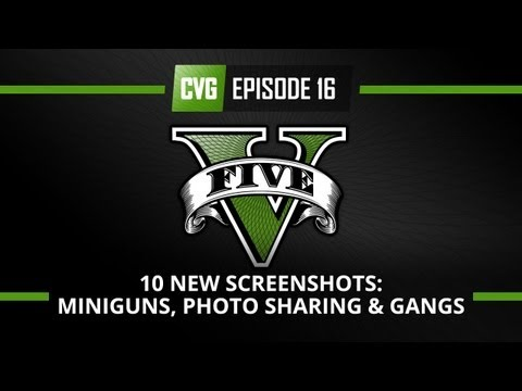 GTA V - GTA 5 o'clock - 10 NEW Screenshots! Mini-guns, photo sharing and gangs