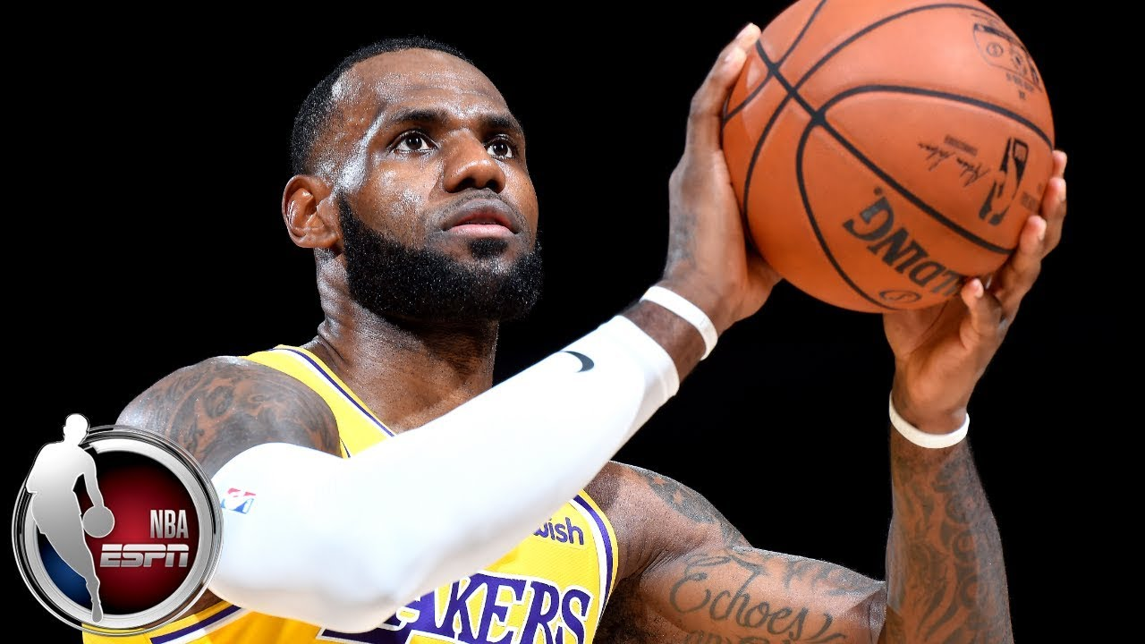 LeBron James ignites crowd in Los Angeles Lakers preseason debut vs Denver Nuggets | ESPN