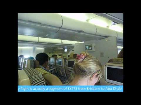 An Etihad Airways Trip Report from Brisbane (BNE) to Singapore (SIN) on June 12th, 2013