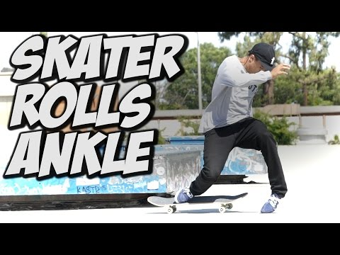 IVAN SPRAINS ANKLE & MUCH MORE !!! - A DAY WITH NKA -