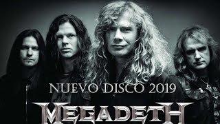 Nuevo Disco de Megadeth 2019 - Warheads on Foreheads -RP News