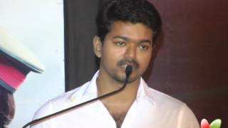 Thuppakki - Vijay's speech in Thuppakki Audio Launch | Sings Song | Latest Tamil Movie | Trailer Launch
