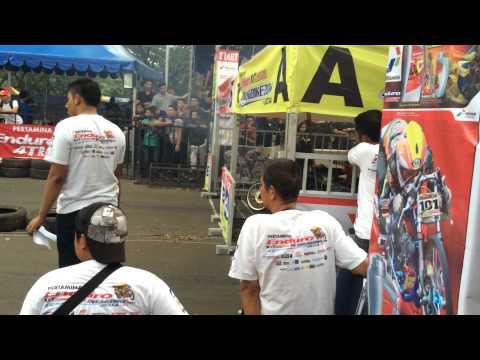 drag bike senayan kelas bebek 2tak 130cc 2014
