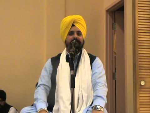 Gurudwara Greater Montreal Canada- Prof. Sarabjit Singh Dhunda G , 4th Feb 2016. Part 2