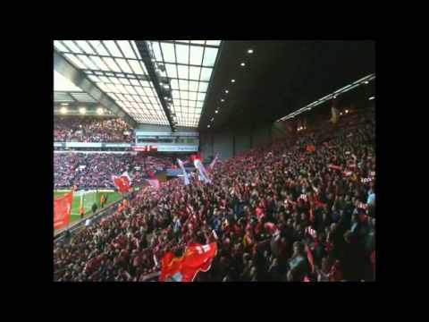 Liverpool Fans Singing You'll Never Walk Alone Before The Match ! Amazing !! video