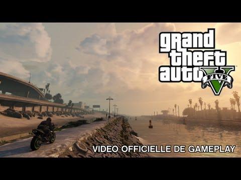 Grand Theft Auto V : Vidéo Officielle de Gameplay