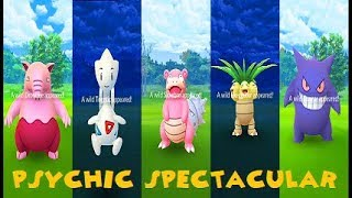 Pokemon Go Psychic Spectacular Aftermath - Shiny Drowzee & Black Hat Pikachu +
