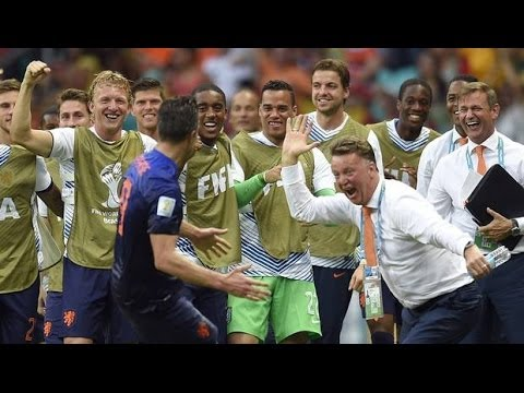 [FULL] All Goals & Highlights Netherlands vs Spain 5-1 World Cup 14 June 2014