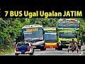 7 BUS Terkenal Ugal Ugalan di Jawa Timur