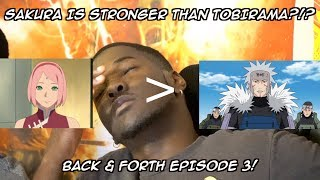 BACK & FORTH EP 3: TOP 20 STRONGEST NARUTO CHARACTERS - SAKURA IS STRONGER THAN TOBIRAMA?!