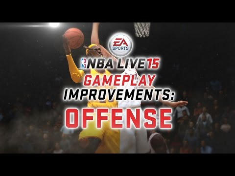 NBA LIVE 15 Gameplay Improvements: Offense