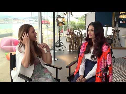 Aishwarya Rai Bachchan Interview at Cannes 2018