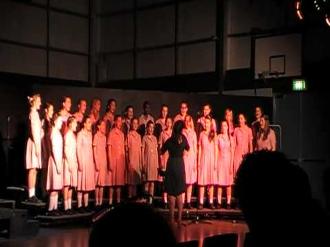 Go Down Moses -Secondary School choir St Johns Grammar School