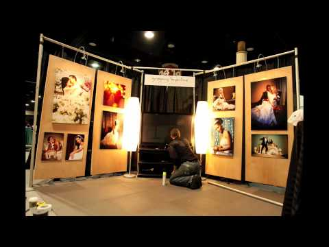 Time Lapse of Bridal Show Booth Setup Gregory Byerline Photography