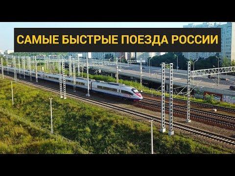 САПСАН: скоростной поезд между Москвой и Санкт-Петербургом!