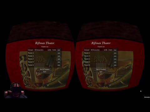 RiftMax Theater 4D with Multiplayer! - Oculus Rift GamePlay & Review
